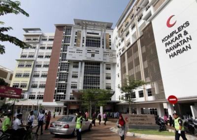 Hospital Kuala Lumpur — 1800 bays